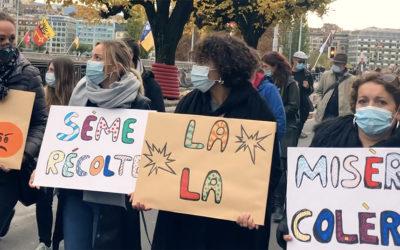 Pour une sortie de crise solidaire · Manif· Samedi 19.12 · 14h · Plainpalais