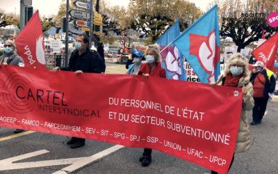 Cartel Intersyndical: Stop aux projets de loi qui attaquent les salaires et élection d'Olivier Baud à la présidence